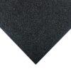 Dalle en caoutchouc noir 100 x 100 cm