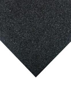 Placa de borracha preta 100 x 100 cm