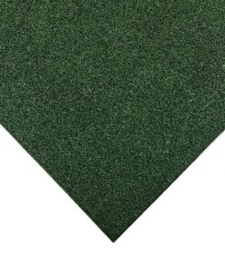 Azulejos de borracha verdes 100 x 100 cm