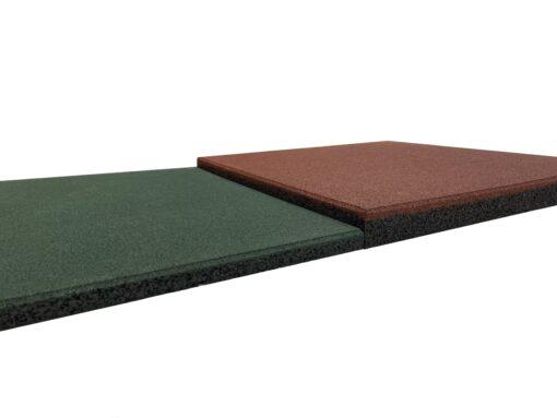 Azulejos de borracha de alta densidade 50 x 50 cm