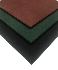 Loseta de caucho alta densidad