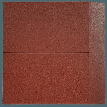 loseta de caucho biselada un lado 100 x 100 cm 1