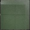 loseta de caucho biselada una esquina dos lados 100 x 100 cm