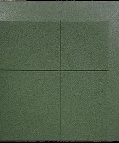 dalle en caoutchouc biseauté un coin deux côtés 100 x 100 cm