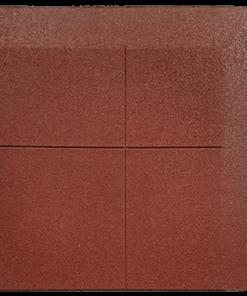 dalle en caoutchouc biseautée un coin deux côtés 100 x 100 cm 2
