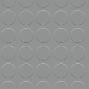 PISO DE CÍRCULO CINZENTO 3 MM POR ROLO (1 x 15 M)