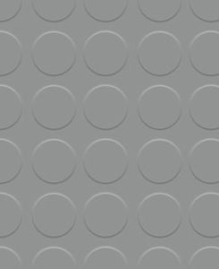 Pavimento de círculo gris 3 mm por metro lineal