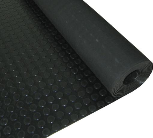 Pavimento do círculo preto de 3mm por medidor linear
