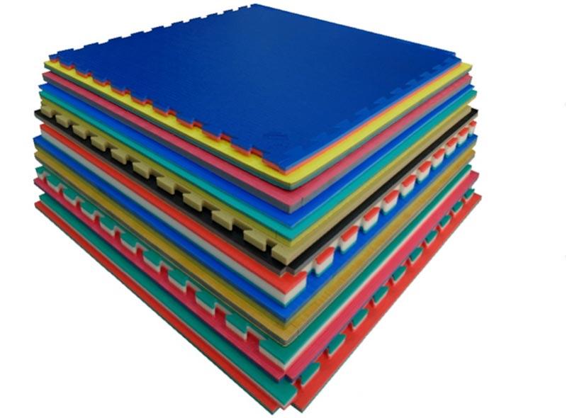 Tatami puzzle el mejor suelo para amortizar caidas