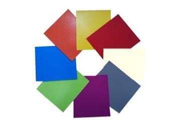 Lonas de pvc de una gran variedad de colores