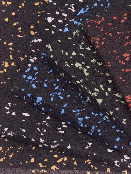 Loseta de caucho engarzable tipo puzzle color 2