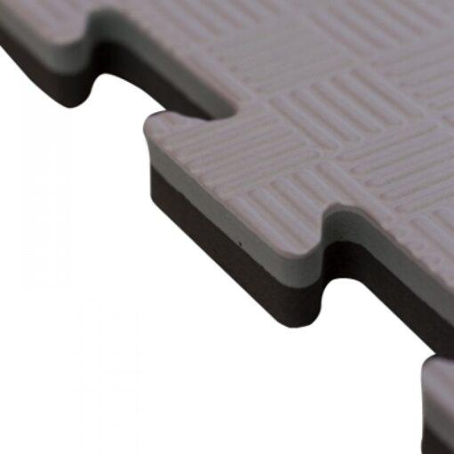 tatami puzzle negro gris