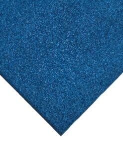 tuile en caoutchouc bleu