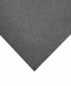 Placa de borracha cinza
