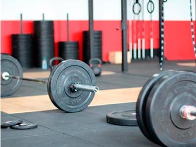 Suelo para gimnasio densidad alta