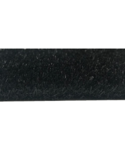 Césped artificial negro por metro lineal