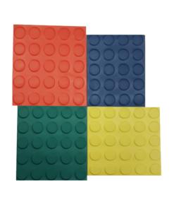 Pavimento do círculo de cor de 3mm por medidor linear