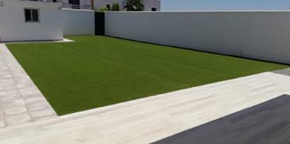 cesped artificial para casas y jardines