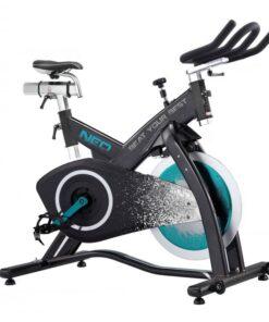 vélo d'intérieur bleu néo magnétique