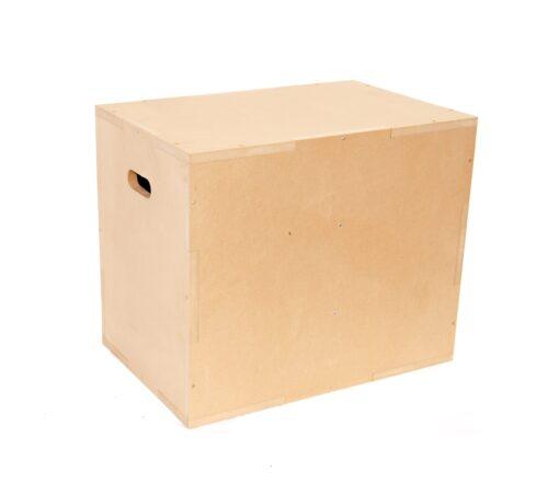 Cajón pliométrico de madera