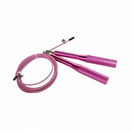 cuerda de velocidad profesional rosa
