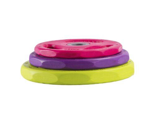 Disco body pump premium 30 mm goma colores