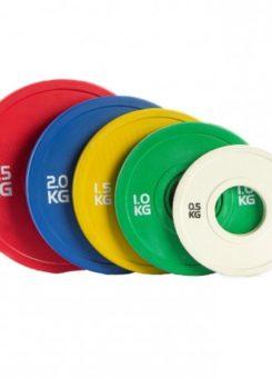 Disco olímpico bumper color fraccional