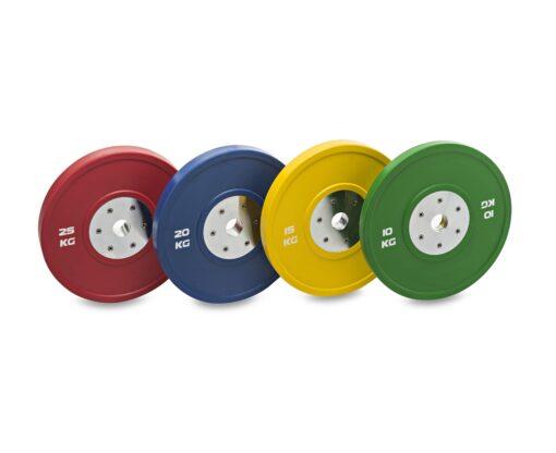 Disco olímpico bumper competición