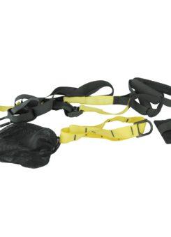 Kit entrenamiento de suspensión amarillo/negro
