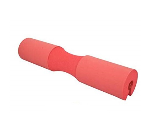 Protector de cuello para barra rojo