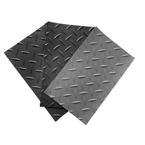 Revêtement de sol en PVC de type diamant 1 mm par mètre linéaire