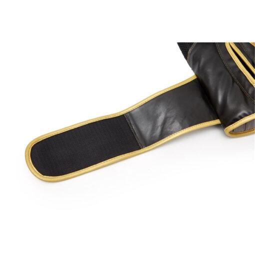 guante boxeo eco cuero 12 oz dorado y negro reebok 2