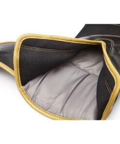 guante boxeo eco cuero 12 oz dorado y negro reebok 3