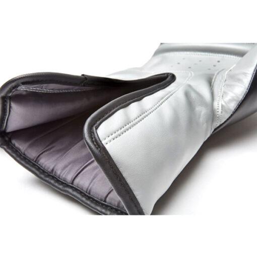 guante boxeo eco cuero 14 oz gris y negro reebok 3