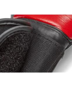 guante boxeo piel rojo y negro reebok 2