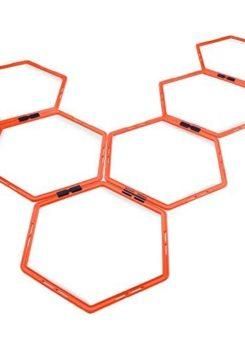 Juego escalera agilidad hexagonal