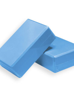 Ladrillo de yoga azul
