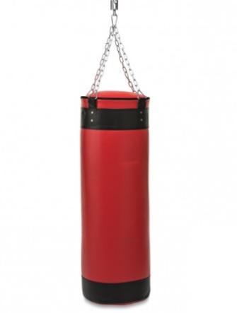 saco de boxeo rojo