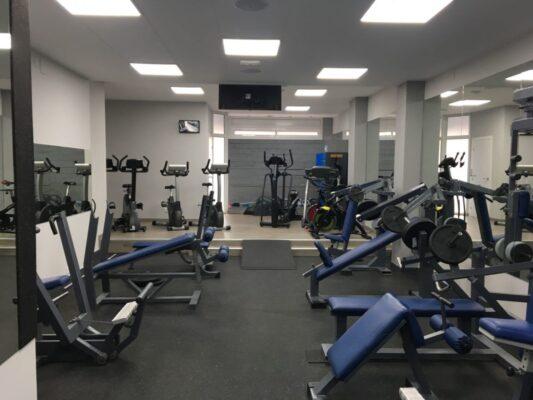Suelo de gimnasio Sport Optimus de 4 mm