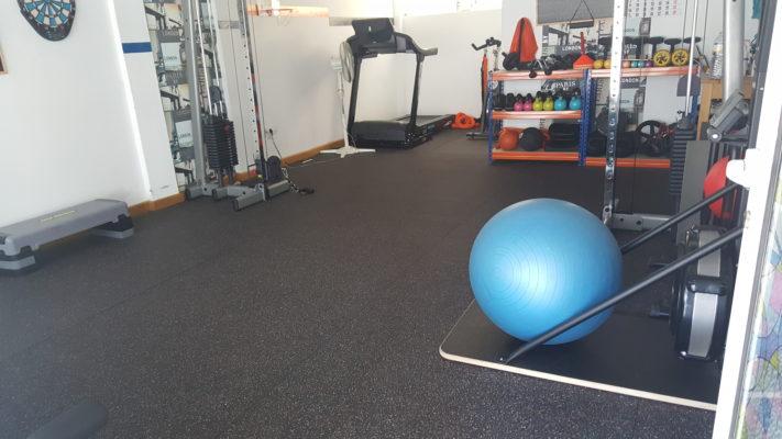 Suelo de gimnasio Sport Oympia de 8 mm