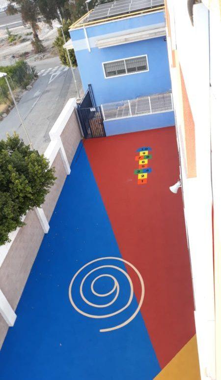 suelo para colegios y guarderias